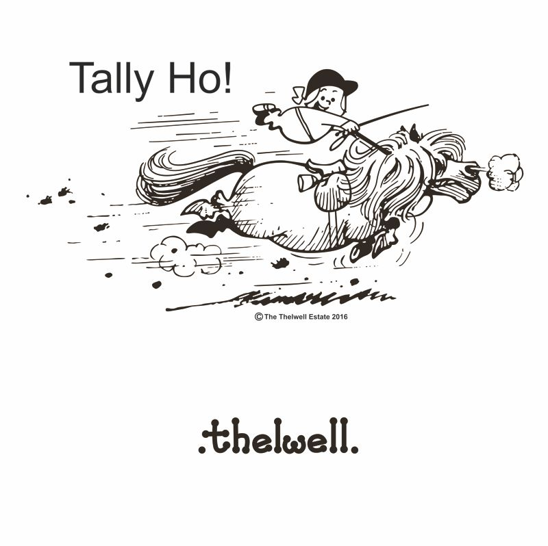 Tally Ho Tote Bag Print