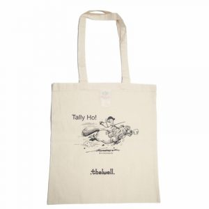 Thelwell Tally Ho Tote Bag Natural 3