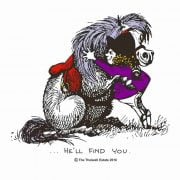 Thelwell He'll Find You Print Image