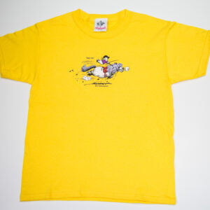 Thelwell Tally Ho T-Shirt Yellow