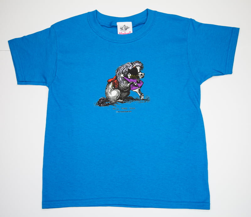 Thelwell He'll Find You T-Shirt Sapphire