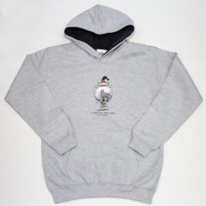 Thelwell A Good All Rounder Hoodie Junior Grey Navy