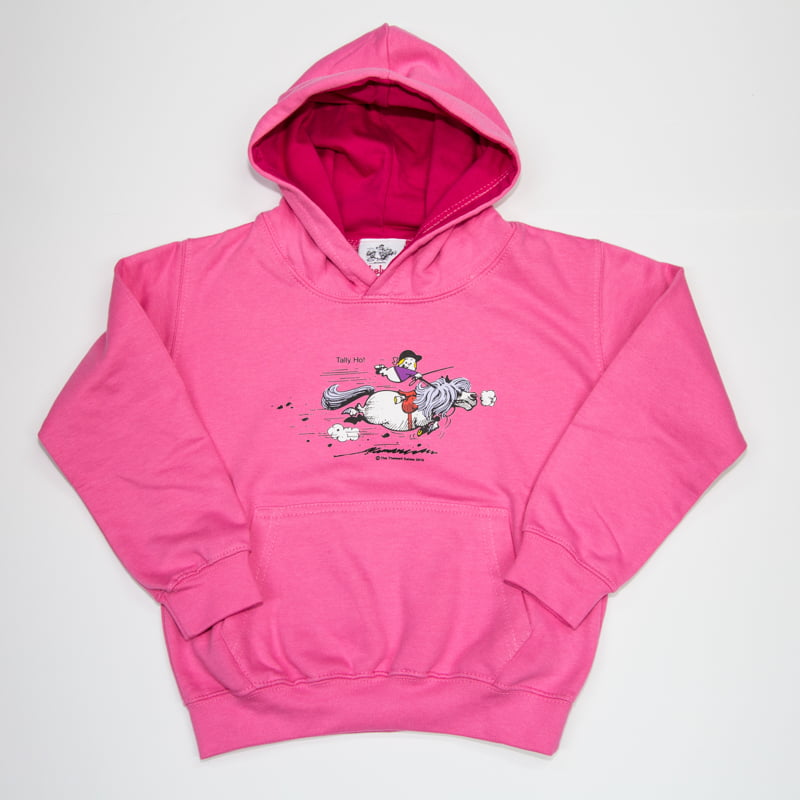 Thelwell Hoodie Tally Ho Candy Hot Pink