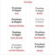 Font Styles 2
