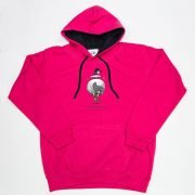 Thelwell Hoodie A Good All Rounder Hot Pink Navy Adults