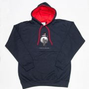 Thelwell Hoodie A Good All Rounder Navy Red Adults