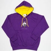 Thelwell Hoodie A Good All Rounder Purple Yellow Adults