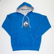Thelwell Hoodie A Good All Rounder Sapphire Grey Adults
