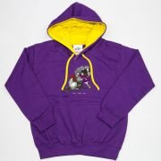 Thelwell Hoodie He'll Find You Purple Yellow Adults