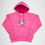 Thelwell Hoodie Tally Ho Candy Hot Pink Adults