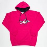 Thelwell Hoodie Tally Ho Hot Pink Navy Adults
