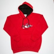 Thelwell Hoodie Tally Ho Red Black Adults