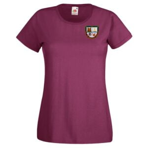 VOBR Ladies T-Shirt Maroon 2