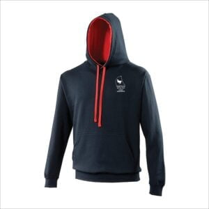 Cadet Squadron Hoodie - NavyRed - Adults